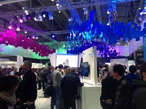 Stoisko Samsunga na CeBIT 2013