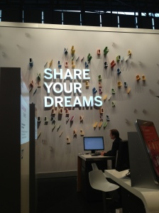 SAP & share your dreams, CeBIT 2013