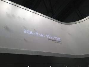 Licznik statystyk na SAP, CeBIT 2013