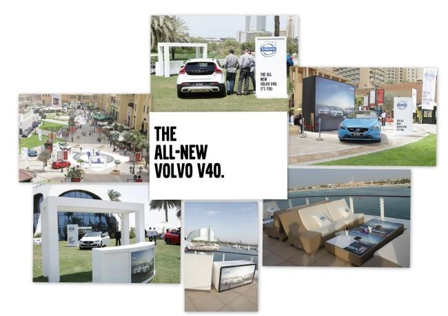 Volvo V40, premiera produktu i jak to się robi w Dubaju…